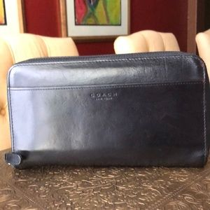 Vintage leather coach wallet
